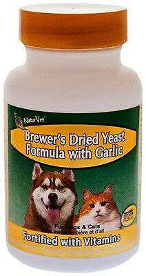 NaturVet Brewer's Yeast  Garlic Plus Vitamins 500 Tabs