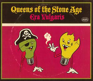 Queens-Of-The-Stone-Age-Era-Vulgaris-3-x-10-034-Vinyl-LP-NEW-amp-SEALED