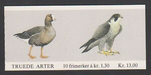 Norway-1981-Birds-Booklet-of-10-x-1k30-stamps-MNH-SG-SB64