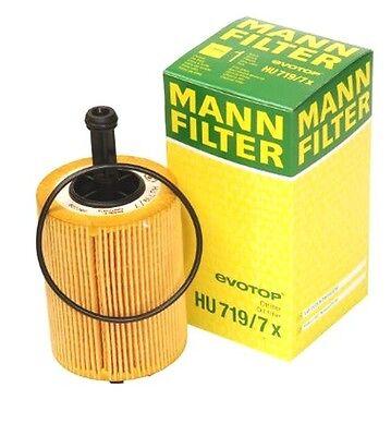 VW Jetta tdi BRM engine Oil Filter NEW Mann