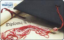 Walmart Gift Card Diploma Limited Ed COLLECTIBLE New No Value