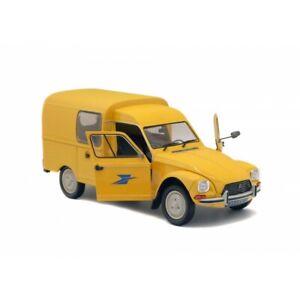 Miniature Voiture Fourgonnette Citroën Acadiane De 1984 La Poste 1/18