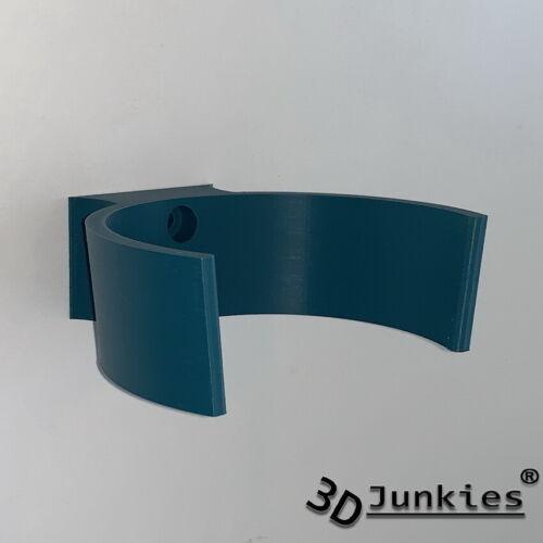 Wand Halterung Akku Sauger Staubsauger Halter V2 passend Makita DCL Blau