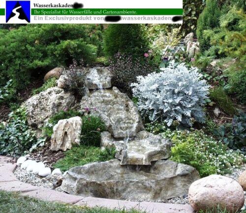 Cascade complet installation Fulda granit NEUF