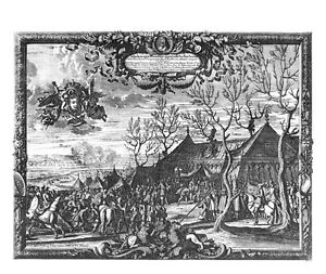 Antique-map-Rex-Sueciae-Celsiss-Transilvaniae-Principem-prope-pagum-Moidlbositz