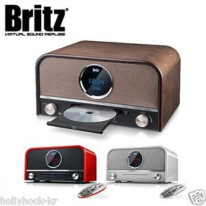 britz all in one retro bluetooth micro speaker cd player bz t6800 ebay. Black Bedroom Furniture Sets. Home Design Ideas