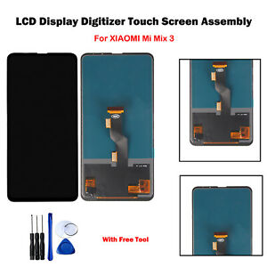 Replacement-For-XIAOMI-Mi-Mix3-Mix-3-LCD-Display-Touch-Screen-Digitizer-Black