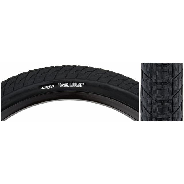 CST Vault BMX Tire 20x2.20 Steel Bead Black