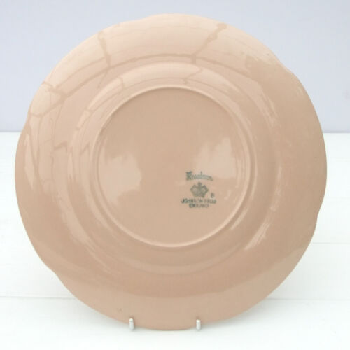 Johnson Brothers Rosedawn Pink Pattern Bread Plate