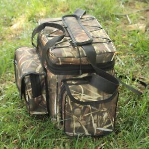 Multifunction Outdoor Waterproof Fishing Tackle Pocket Waist Shoulder Bag #D