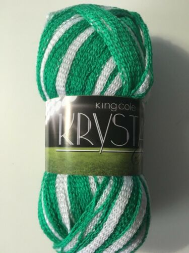 krystal specialist scarf yarn from king Cole  1x 100g ball with pattern