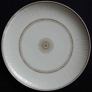 Plat-en-Porcelaine-Deutsches-Porzelan-HUTSCHENREUTHER-Seladon