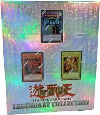YUGIOH Legendary Collection 1 GOD Portfolio Edition + 6 SEALED Booster Boosters