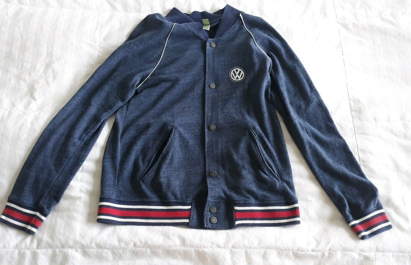 Volkswagen Varsity Style Cardigan Button Up