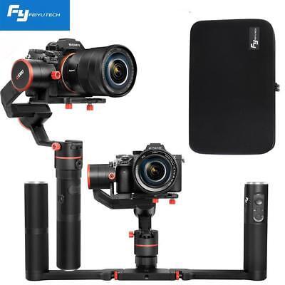 Feiyu X3000 Dual Handle Grip 3-Axis Gimbal Stabilizer for DSLR Mirrorless Camera