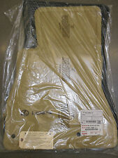 LEXUS OEM FACTORY CARPET FLOOR MAT SET 2002-2010 SC430 CAMEL
