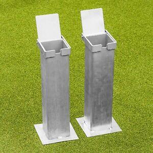 Steel Flip Couvercle Sol Douilles-pour 76 mm SQUARE Tennis postes  </span>