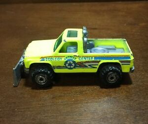 Image Is Loading HOT WHEELS 1979 ECOLOGY CENTER RECYCLE PICK UP