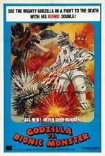 Godzilla Vs Mechagodzilla Poster 02 Metal Sign A4 12x8 Aluminium