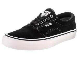 a78fd4c26eb VANS ROWLEY PRO SOLOS BLACK WHITE PEWTER MENS US 7 WOMENS 8.5 ...