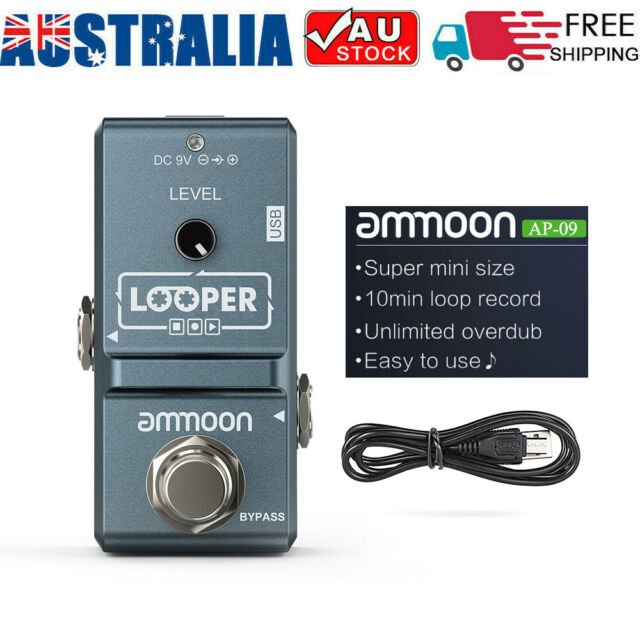 ammoon AP-09 Nano Loop Electric Guitar Effect Pedal Looper True Bypass AU Post