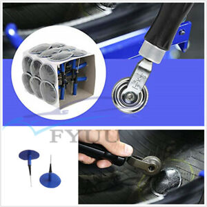 Universal Car 24Pcs Natural Rubber Tyre Repair Wired 48*6mm Plug Mushroom Patch