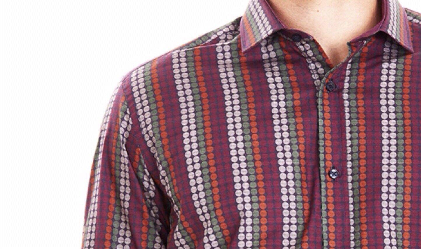 GUIDE London L S sono tro DISCO  Camicia. Multi colore. 2XL. 48  sul petto. spettacolare