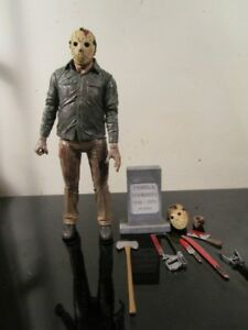 100-Authentic-NECA-Friday-The-13Th-Ultimate-Part-4-Jason-7-034-Action-Figure
