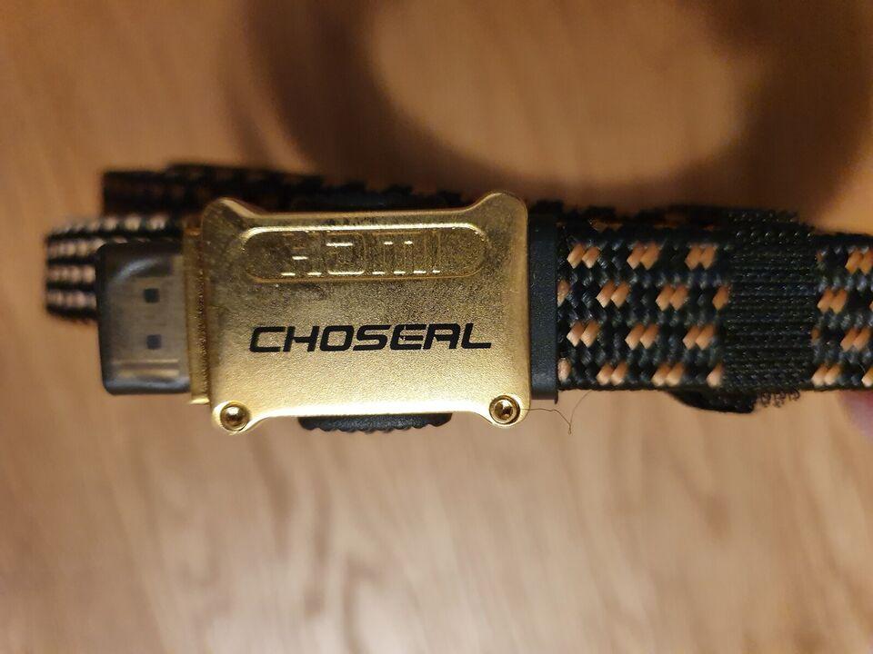 HDMI Kabel High end 5 Meter, Choseal, Perfekt