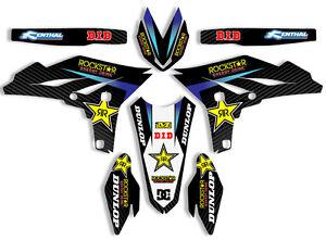 2010 2011 2012 2013 yz 250f graphics kit yamaha yzf 250 deco decals mx stickers ebay