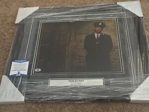 Tom Hanks signed autographed framed 11x14 photo The Green Mile Beckett BAS PSA