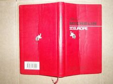 GUIDE MICHELIN ROUGE 1994 EUROPE