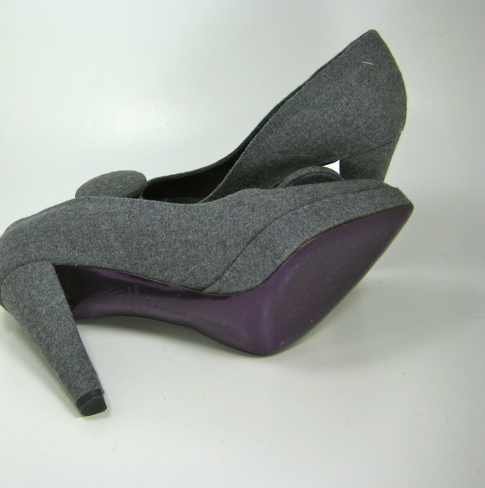 BETTYE MULLER Gray Wool
