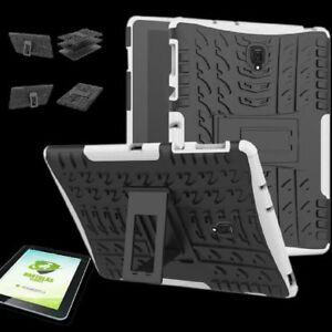Para-Samsung-Galaxy-Tab-a-10-5-T590F-Hibrido-Exterior-Blanco-Bolsa-0-4-H9-Duro