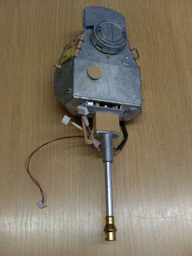 Taigen Panzer IV Metal Turret Infra Red for 1 16 Scale RC Tank