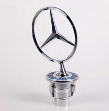 Chrome 3D Star Hood Logo Emblem Badge for Mercedes Benz w210 w202 w203 C200 w211