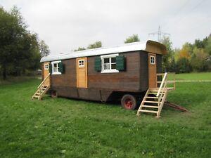 Zirkuswagen, Bauwagen und Schaustellerwagen. Neubau und Restaurierung