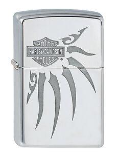 2000747-Zippo-Feuerzeug-Harley-Davidson-mit-persoenlicher-Gravur
