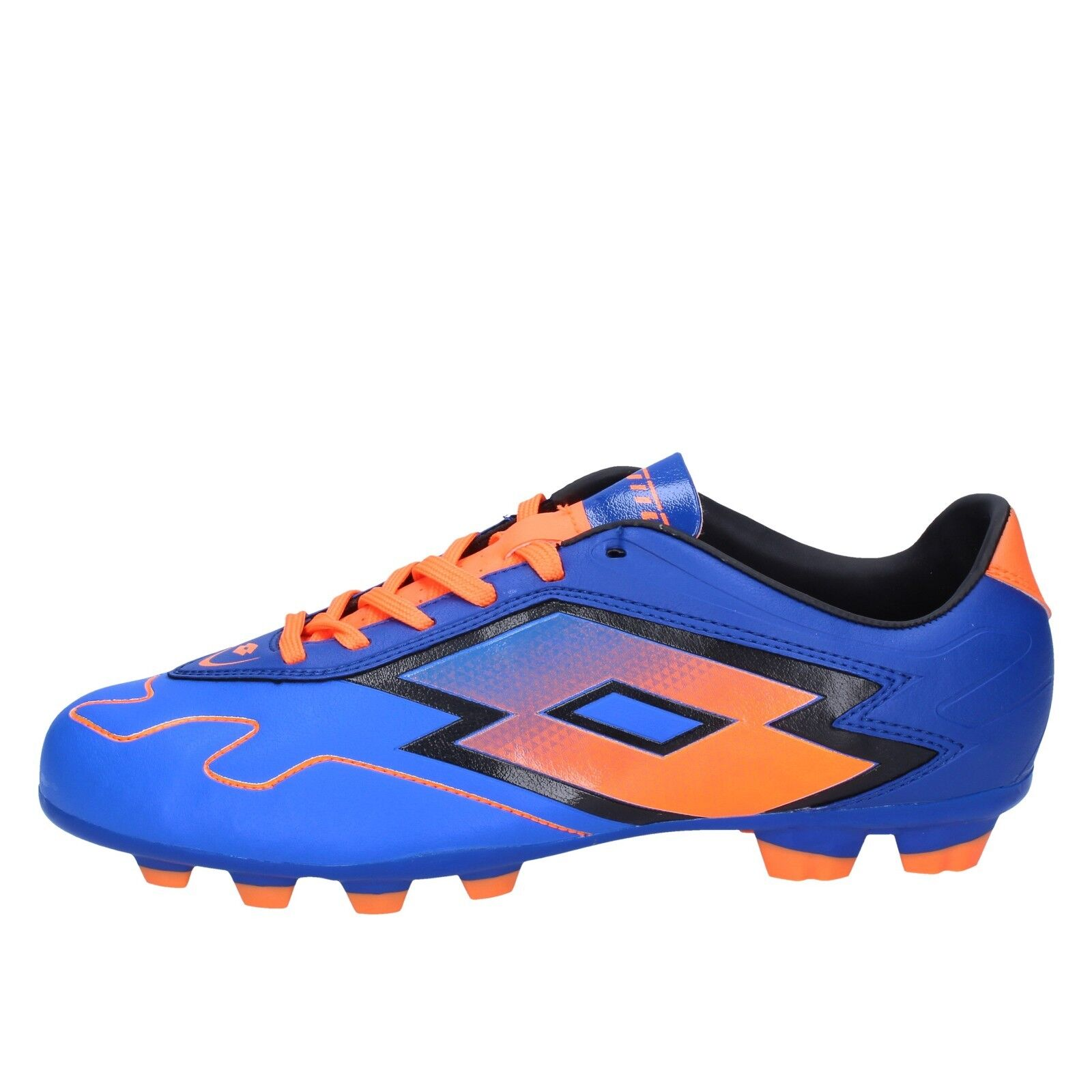 Scarpe uomo LOTTO 45 EU arancione scarpe da ginnastica blu arancione EU pelle BT586-45 067a7f