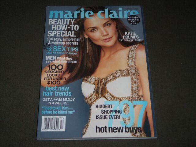 2003 OCTOBER MARIE CLAIRE MAGAZINE