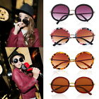 Unisex Women Fashion Retro Vintage Style Sunglasses Glasses Round Metal Frame R