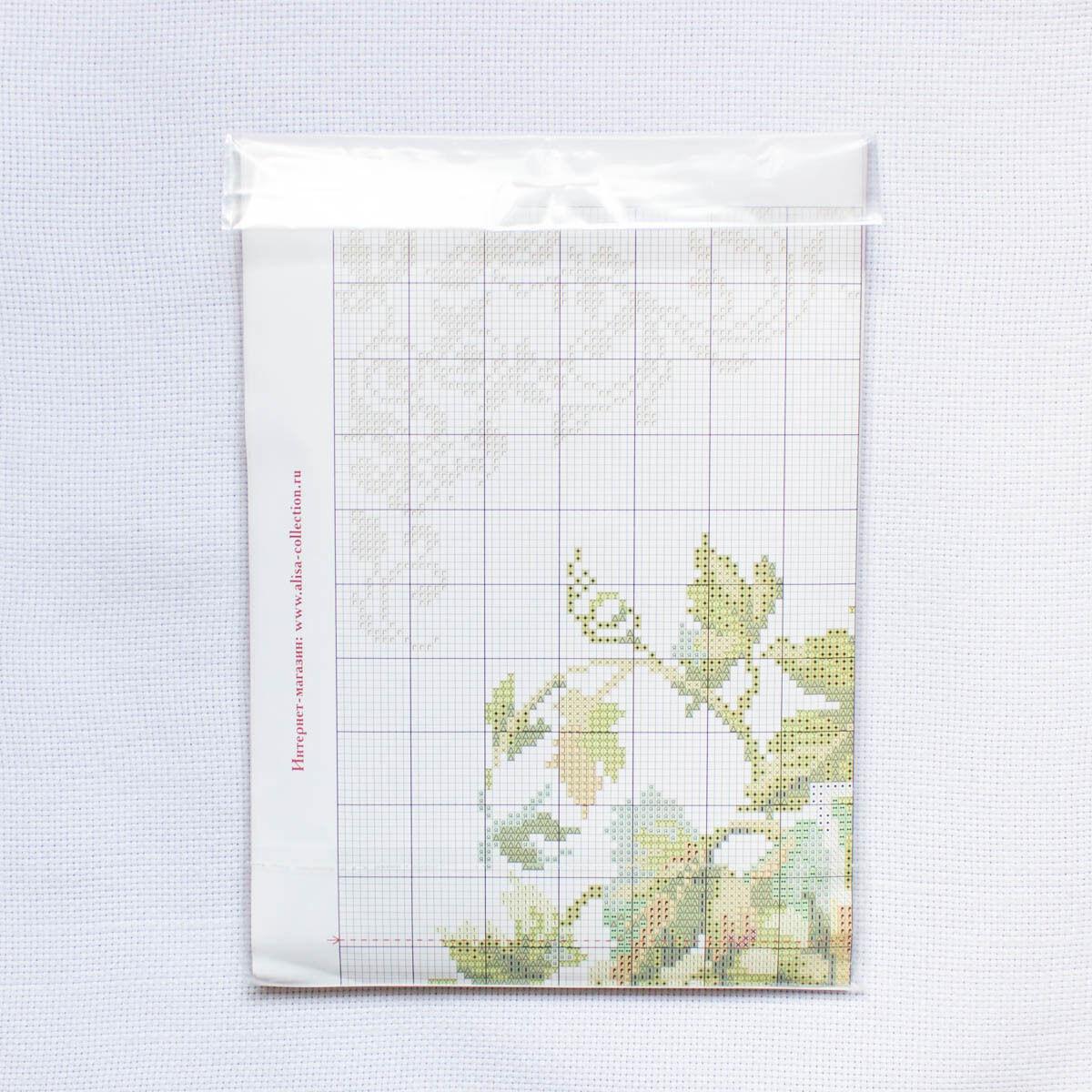 """Counted Cross Stitch Kit ALISA 5-08 /""""Chardonnay/"""""""
