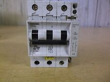 NEW Siemens 5SX23 3-Pole Circuit Breaker 400V   *FREE SHIPPING*