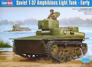 Hobbyboss 1:35 T-37 soviétique AMPHIBIOUS LIGHT TANK (EARLY) Model Kit