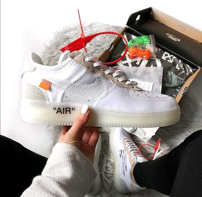 Nike Airforce X Off White New in box
