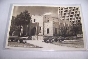 Rare-Vintage-RPPC-Real-Photo-Postcard-Kodak-1930-1950s-Alamo-San-Antonio-Texas
