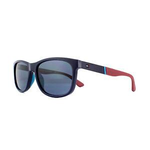 b47627cffa07c Tommy Hilfiger Sunglasses TH 1520 S PJP KU Black Grey Blue ...