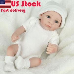 10-034-Realistic-Reborn-Baby-dolls-Preemie-Toys-Kids-Boys-Girls-Gifts-Handmade-New
