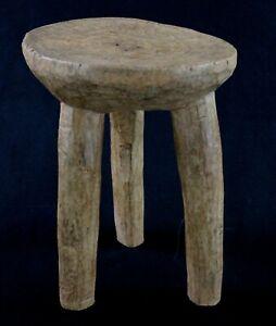 Arte Africano - Sgabello - Eccezionale Lobi Antico & Non-Comuni - 30 CMS