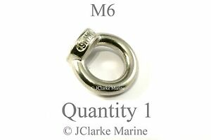 M6-6mm-Eye-lifting-nut-DIN-582marine-stainless-steel-316-A4-Female-eye-bolt